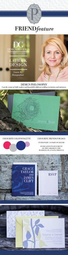 Friend Feature: Laura K Design  www.parasevents.ca/blog