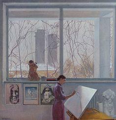 Баходир Джалалов, «Окно» 1982