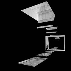 """Serge Najjar Captures The Architecture Of Light – iGNANT.de Lebanese photographer Serge Najjar's series """"The Architecture of Light"""" explores the natural illumination of buildings around his native Beirut. His high-contrast black and white photos focus. Light Architecture, Architecture Portfolio, Futuristic Architecture, Architecture Design, Architecture Definition, Business Architecture, Shadow Photography, City Photography, Artistic Photography"""