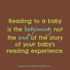 Reading to Babies {10 real-life tips} - No Twiddle Twaddle