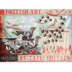 The centrepiece of the Mark Hearld for Tate range, a limited edition print celebrating Tate Britain and British Art, produced by the legendary Curwen Press.