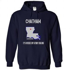Chatham, Louisiana - Its Where My Story Begins - Specia - #hoodie for teens #victoria secret sweatshirt. ORDER NOW => https://www.sunfrog.com/LifeStyle/Chatham-Louisiana--Its-Where-My-Story-Begins--Special-Tees-2015-2589-NavyBlue-27891040-Hoodie.html?68278