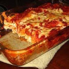 Easy Chicken Lasagna