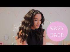 Aine's Wardrobe | Wavy Curls Hair Tutorial