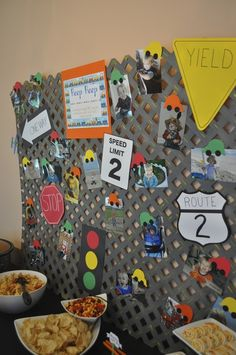 Planes, Trains, and Automobiles Birthday Party Ideas | Photo 7 of 41 | Catch My Party
