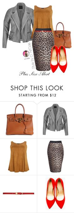 """""""Untitled #2517"""" by stylebydnicole ❤ liked on Polyvore featuring Hermès, maurices, Boohoo, Forever New and Charlotte Olympia"""