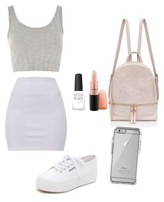 """Untitled #98"" by alessiacaravetta on Polyvore featuring Topshop, Superga, Kester Black and OtterBox"
