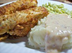 Southern Fried Chicken with Milk Gravy
