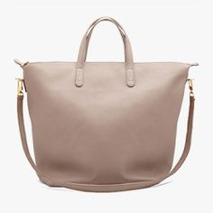 Oversized Carryall Tote in Sable   Cuyana