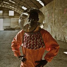 In 1964 newly independent Zambia started competing with the US and the Soviet Union to win the race to the moon -- or at least one school teacher did. Cristina de Middel has documented the project in a series called...The Afronauts.