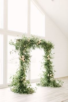 Modern Farmhouse Wedding with Greenery Design