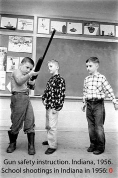 Proof that an armed society is a polite society. Especially with good teaching.