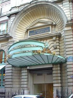 Bon Marche Department Store, Paris.