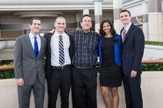 Ohio University team and adviser: Mike Dirmann, Mike Wendling, Jim Kahler, Laura Waters-Brown & John Bollinger