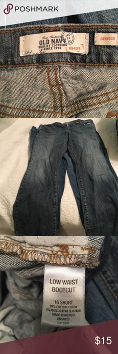 Old Navy Jeans Old Navy Jeans 16 Short Jeans Boot Cut