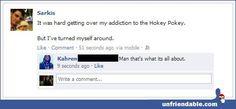 Facebook - Hokey Pokey