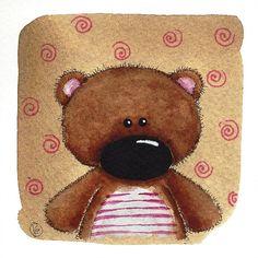 Teddy Bear by stressiecat on Etsy