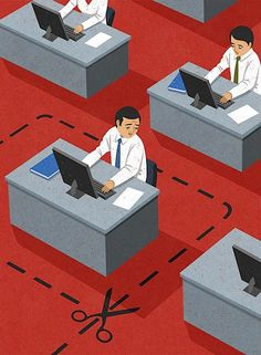 Meaningful Editorial Illustrations by John Holcroft