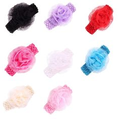 Delicate Hot Fashion New Lovely Cute Accessories 5PC Baby Girls Elastic Headband Rose Flower Photography Headbands Ju9 wholesale #>=#>=#>=#>=#> Click on the pin to check out discount price, color, size, shipping, etc. Save and like it!