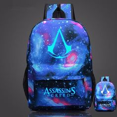 New Arrival Assassin's Creed Glow Backpack - BlackCooperMarket
