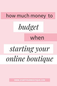 Start an Online Boutique Budget - How To Start An Online Boutique? - SAVE THIS PIN then click the link to learn how much money you should budget to start your own online boutique business. Boutique Mobiles, Children's Boutique, Boutique Ideas, Drop Waist Wedding Dress, Ruched Wedding Dress, Business Planning, Business Tips, Online Business, Starting An Online Boutique