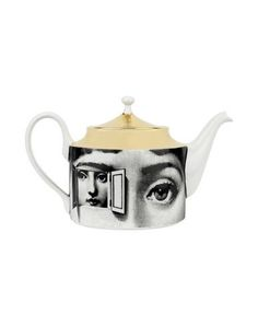 I found this great FORNASETTI Teapot on yoox.com. Click on the image above to get a coupon code for Free Standard Shipping on your next order. #yoox