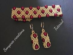 DIY Butterfly larva earrings(Beaded) - Pin This Beaded Jewelry Patterns, Bracelet Patterns, Beading Patterns, Seed Bead Tutorials, Beading Tutorials, Diy Schmuck, Schmuck Design, Beads And Wire, Pearl Beads