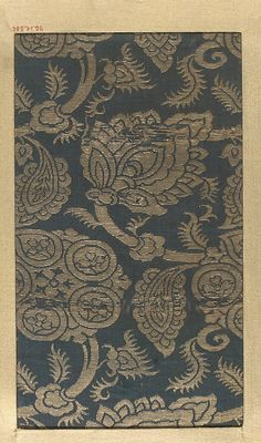 Piece  Date: 18th–19th century Culture: Japan Medium: Silk Dimensions: 8 1/4 x 4 3/4 in. (20.95 x 12.07 cm) Classification: Textiles-Woven