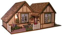Pat's miniatures - Lilac Cottage