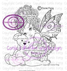 Digital Stamp Digi Stamp digistamp Precious by by ConieFongArt