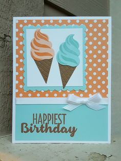 Stampin' Up! Cool Treats from Occasions 2017