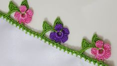 New Writing Cheesecloth Embroider, Crochet Doilies, Crochet Flowers, Crochet Lace, Phulkari Embroidery, Hand Embroidery, Baby Knitting Patterns, Crochet Patterns, Saree Tassels Designs, Crochet Decoration