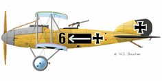 The Albatros C.V was a German military reconnaissance aircraft which saw service during World War I.