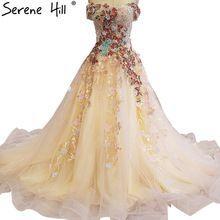 Boat Neck Embroidery Flowers Bridal Wedding Dresses 2018 Luxury Bridal  Train Wedding Gown Vestido De Noiva 2523833d8880
