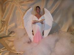 Candice the singing angel.