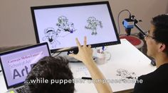 Dranimate: Rapid Gestural Animation and Puppetry on Vimeo