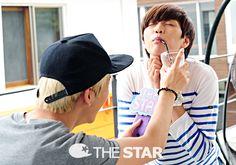 #b1a4 #sandeul #baro #the star  / Tumblr