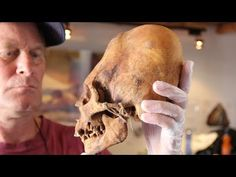 Newly Discovered Elongated Skulls In Paracas Peru - YouTube