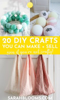 Crafts To Make And Sell, Easy Diy Crafts, How To Make Money, Sell Diy, Homemade Crafts, Decor Crafts, Plant Therapy, Make Blog, Printable Designs