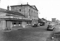 Oude station Enschede, gesloopt jaren '50.