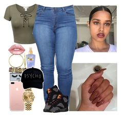 """""""Tryna figure out do i wanna still do anons ...?"""" by melaninmonroee ❤ liked on Polyvore featuring Rolex, POPbeauty, Bling Jewelry, Lime Crime and Victoria's Secret"""
