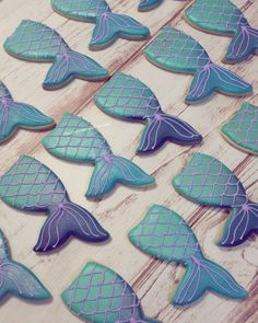 Mermaid tail Mermaid cookies 1 Dozen Mermaid party Sugar cookies by SugarCookiesByLilly on Etsy https://www.etsy.com/listing/516513993/mermaid-tail-mermaid-cookies-1-dozen