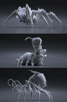 Insects by Carsten Stueben | Creatures | 3D | CGSociety