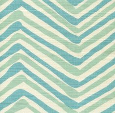 Quadrille Alan Campbell Mulit Colored Zig Zag by WestEndAccents
