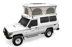 Toyota Landcruiser Pop Top  DriveSouthAfrica.co.za