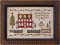 Lantern Lane from Little House Needleworks -- click to see more