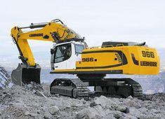 Liebherr 966 Excavator