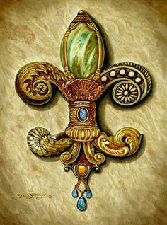 cool pictures of new orleans - - Yahoo Image Search Results Mardi Gras, Louisiana Art, New Orleans Art, French Royalty, Decoupage, Light Of Life, Southern Charm, Coat Of Arms, Art Gallery