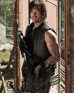 Norman Reedus aka Daryl Dixon  - a different kind of gorgeous but gorgeous, just the same!