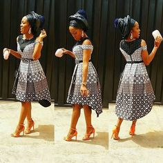 We have a serious crush on this shirt high low gown of @yomisummerhues dress by @layemi_upperwardrobe